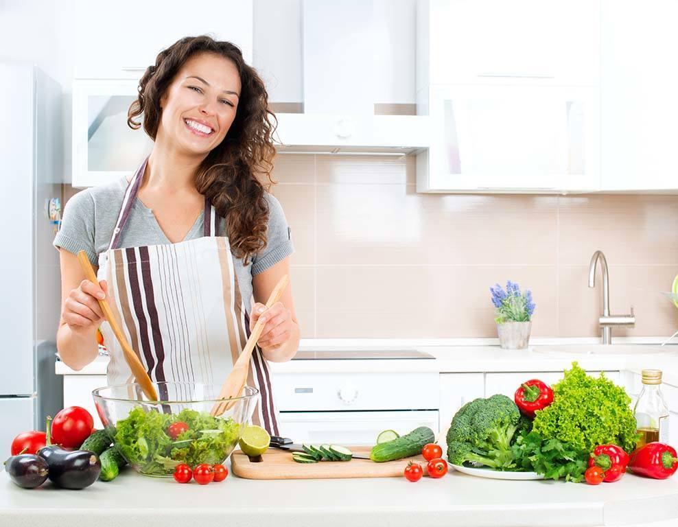 Ausgeglichen gesund kochen